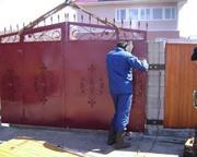 Демонтаж ворот,  крыш,  решеток,  ванн,  опор,  гаражей и т.п.